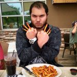 Wolverine with seasoned Fries