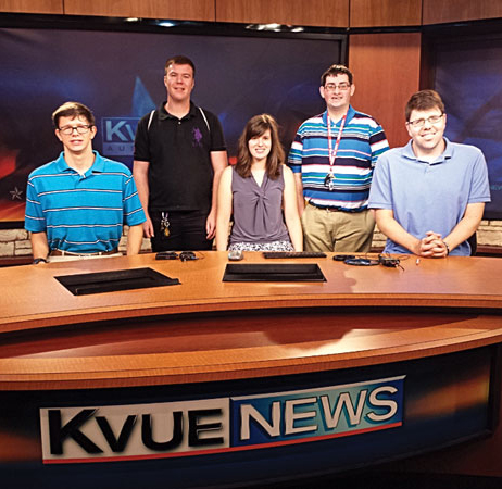 News desk KVUE - career development exploration