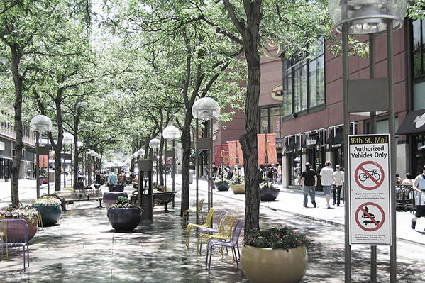 16th Street Mall - Denver