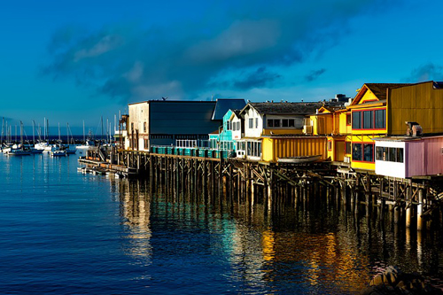 Fishermans Wharf - Monterey California