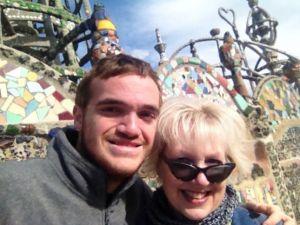 Drew and his mom Debora