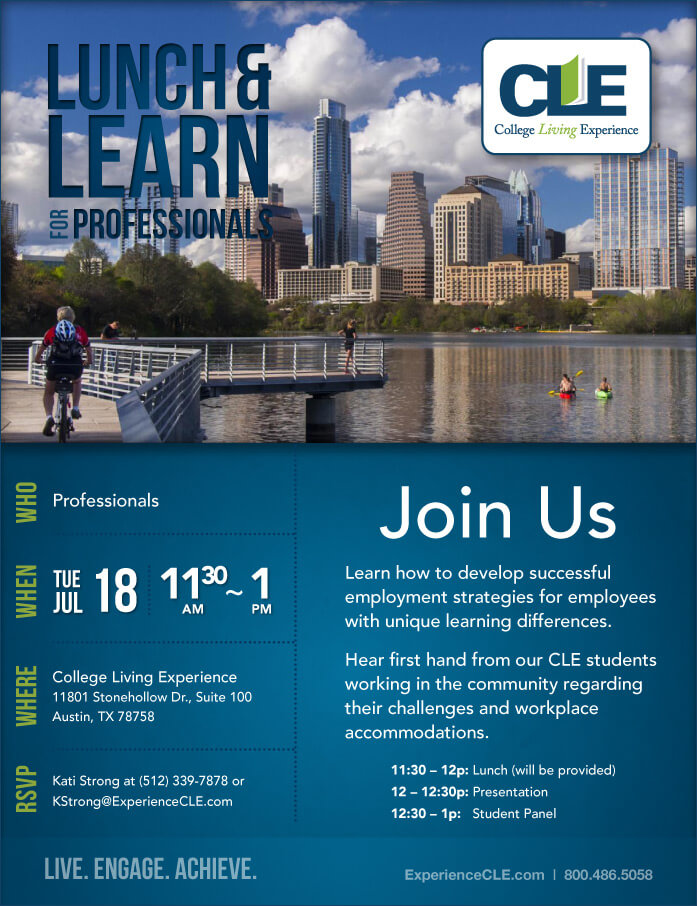 Lunch & Learn - CLE Austin