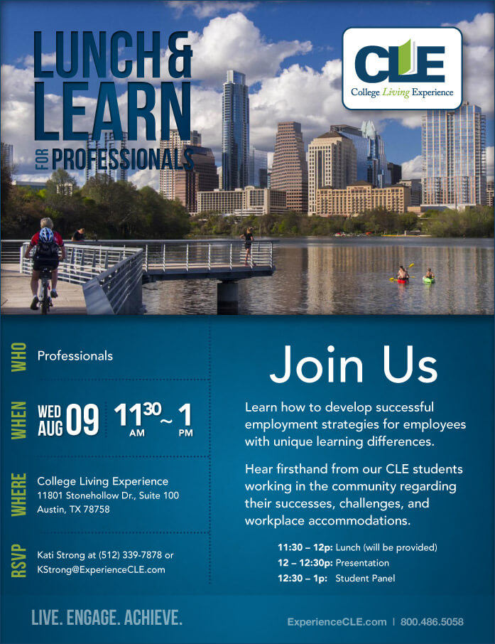 CLE Austin Lunch and Learn