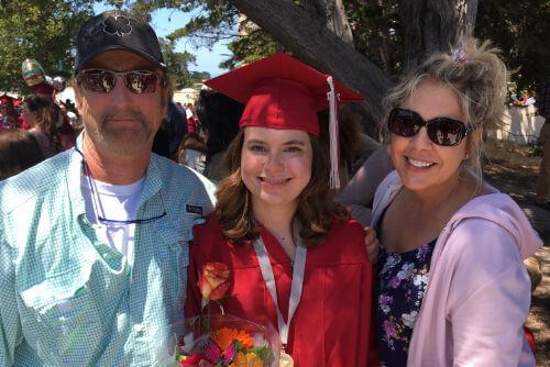 Casey B. Graduation