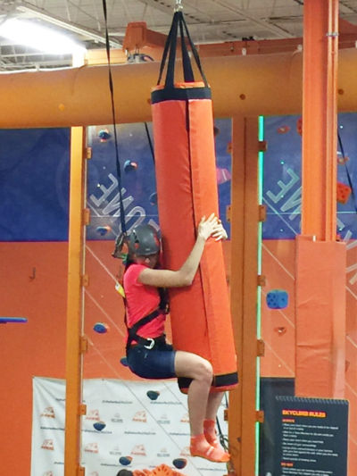 Tatiana from CLE Rockville, at Sky Zone